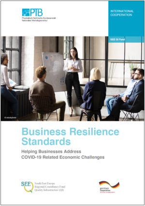 Photo of the Business Resilience Standards Booklet